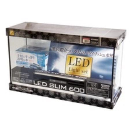 【ポイント10倍 11/4 20:00~11/10 23:59まで】レグラスF-600SH/B-LEDセット【コトブキ アクア用品 水槽セット】