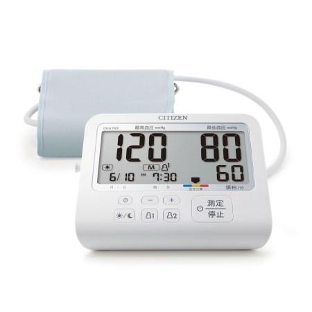 上腕式電子血圧計 CHU703【シチズン 家電 健康 血圧】