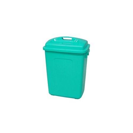 角型容器 フタ付 KL-60 B【矢崎化工 掃除 ペール ゴミ箱 ごみ箱 ダストボックス】