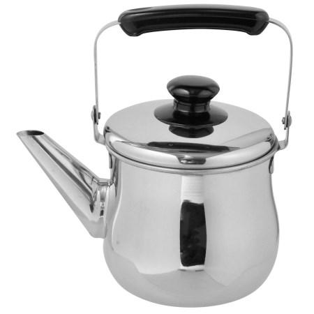 広口なのでお手入れラクラク オリジナル A-Land ステンレス 広口ケトル アークランドサカモトキッチン用品器物ケトルステンレス 茶こし付き セットアップ 1.0L