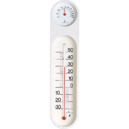 シンワ測定の温度計です メーカー直売 シンワ測定 温湿度計 PCオーバル ホワイト 測定 サーモ お得 48927 測定工具 一般用品