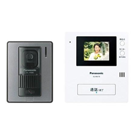 テレビドアホン VL-SV19K【パナソニック 防犯 玄関 モニター ドアホン チャイム】