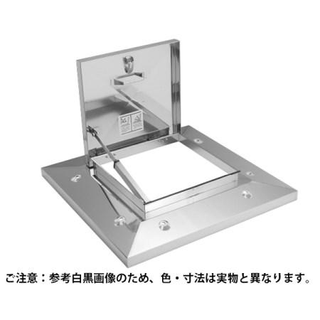 ラクラクハッチ 3段式 500mm 穴無・BK付 ステン OM-61502BK【サヌキ 金物 ハッチ】