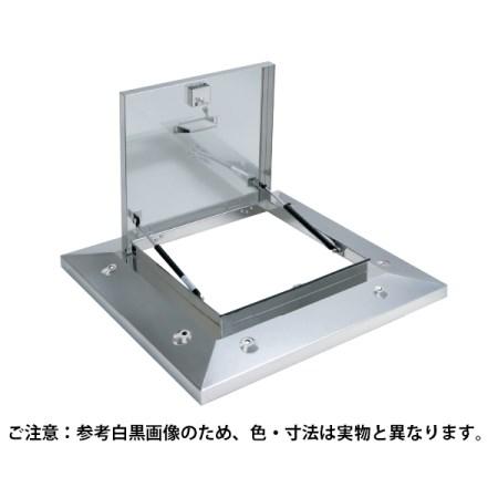 鍵付ラクラクハッチ 3段式 600mm 穴無・BK付 ステン OMK-61602BK【サヌキ 金物 ハッチ】