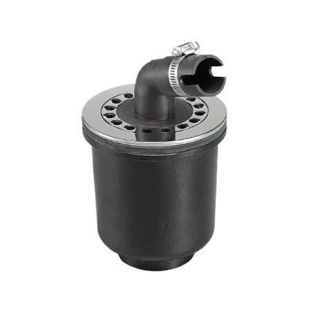 洗濯機排水トラップ&パイプ 縦排水 鋳鉄製 50JT-3-OS【サヌキ 洗濯機 排水トラップ】