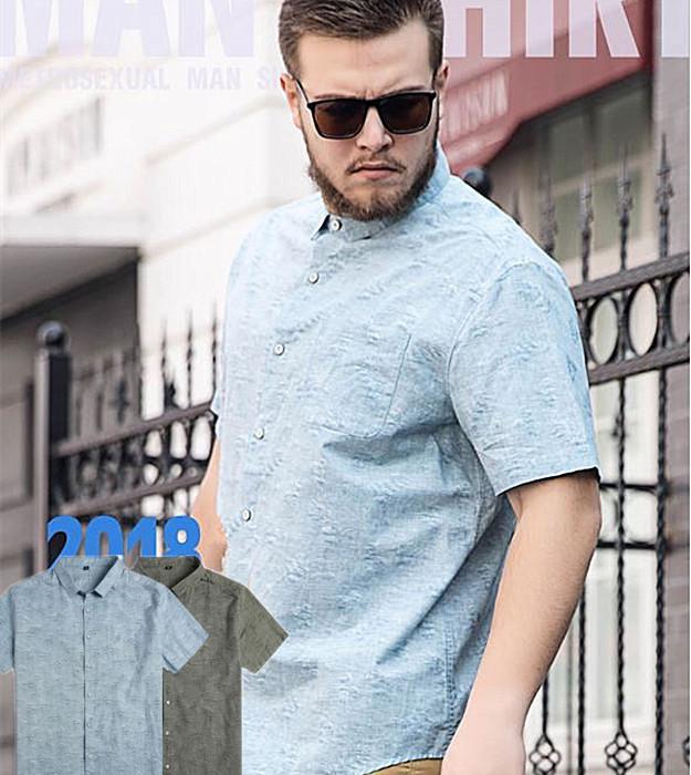 大きいサイズメンズ カジュアル系 送料無料 一部地域を除く メンズシャツ オリジナルデザイン 夏服 カジュアルシャツ 半袖 4L オシャレ 上司との飲み会でも 激安特価品 夏新作 ビッグサイズメンズ 通気性良い 6Lメンズシャツ夏 5L