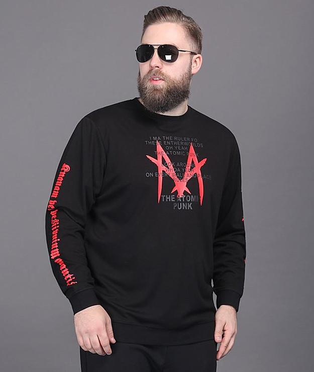 大きいサイズメンズ 長袖Tシャツ メンズファッション  カジュアル系メンズ オリジナルデザイン Tシャツの上からラフに着ても 人気商品:ビッグサイズの アヤコショップ