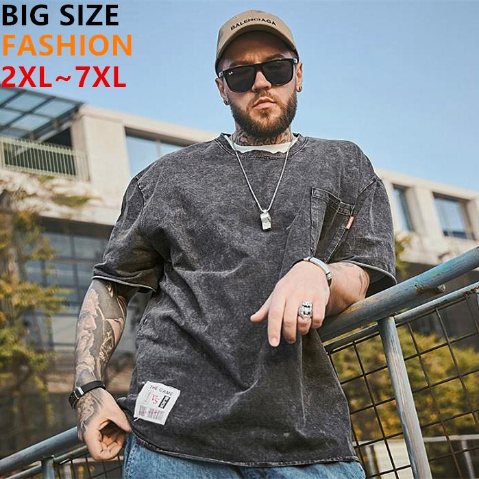 大きいサイズメンズTシャツ ブラック デニーズ風のお洒落 メンズトップス オリジナルデザイン ビッグサイズメンズ 半袖Tシャツ 2L 3L メンズゆったり系 6L メンズファッション 5L 4L 海外限定 お洒落なカッコイイ大人っぽさが感じられる 初売り 7L