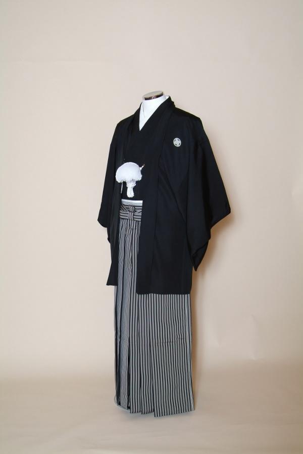 紋付レンタル・結婚式新郎・紋付袴フルセット・身長150cm~185cm 往復送料無料【色打掛・白無垢セットでセット割有】