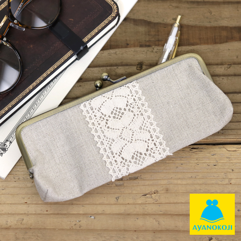 Pouch pen case pouch flat pen case pouch pen case pouch pen case pencil  case pencil case Shin pulse Maho pouch Father's Day