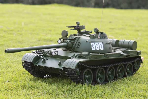 Hooben社 1/16 ソビエト連邦中型戦車T-55A(New Version)