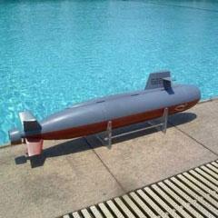 ARKModel 1/72 ドラゴンシャーク潜水艦(ウォーターポンプバラストシステム)