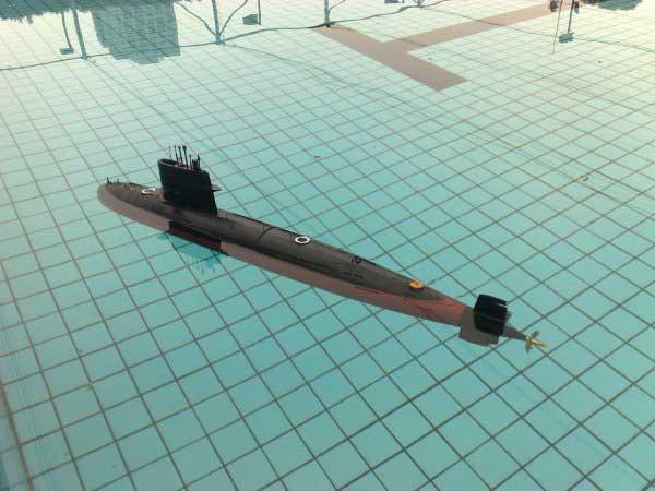 ARKModel 1/72 中国039型ソン級潜水艦(ウォーターポンプバラストシステム)