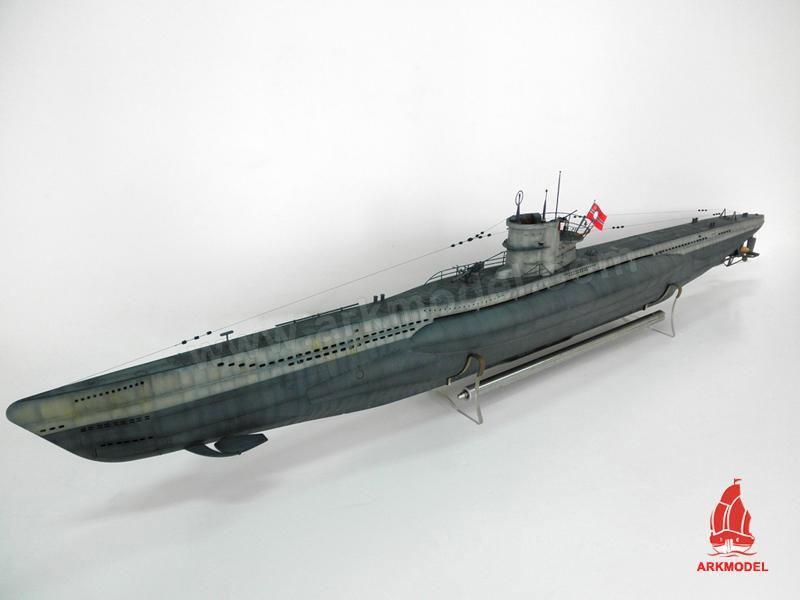 【送料無料(一部地域を除く)】 ARKModel 1/48Uボート ARKModel/タイプVIIC潜水艦キット(シングルポンプバラストシステム)C7602K+W7602GPK, 岩内金物店:f5e84f41 --- konecti.dominiotemporario.com