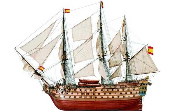 ArtesaniaLatina サンタアナ (Santa Ana navio espanol de primera linea)22905