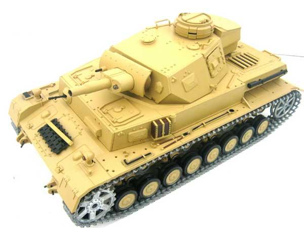 ラジコン戦車完成品ヘンロンHengLong 1/16 IV号F1型(2.4GHz・金属キャタピラ・BB・サウンド・発煙仕様)German DAK Pz.Kpfw.IV-F1 Tank Metal Tracks 20195