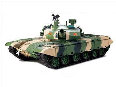 ラジコン戦車完成品ヘンロンHengLong 1/16 99A式戦車 ZTZ 99A(2.4GHz・金属キャタピラ・BB・サウンド・発煙仕様)