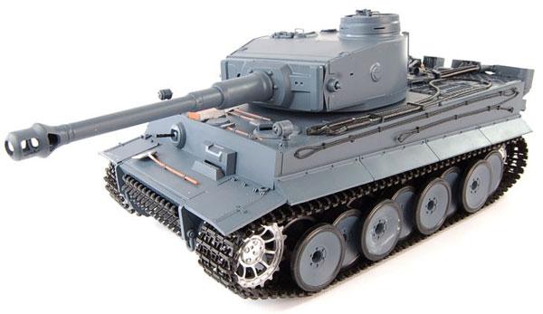 ラジコン戦車完成品ヘンロンHengLong 1/16 タイガーI型(2.4GHz・金属キャタピラ・金属ギアボックス・BB・サウンド・発煙仕様)German Tiger I Tank Metal Tracks