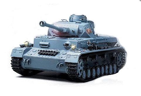 ラジコン戦車完成品ヘンロンHengLong 1/16 IV号F2型(2.4GHz・プラキャタピラ・BB・サウンド・発煙仕様)German DAK Pz.Kpfw.IV AufsF2.Sz.Kfz Tank Plastic Tracks 3859-1