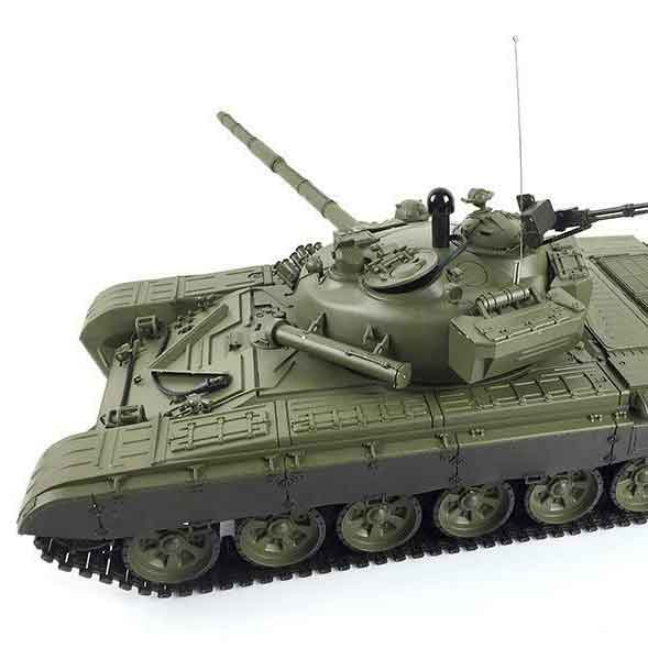 ラジコン戦車完成品ヘンロン/HengLong 1/16 T-72 2.4GHz(金属ギアボックス・プラキャタピラ・BB・サウンド・発煙仕様)T-72 Russischer Kampfpanzer 1/16 3939-1 UPGRADE
