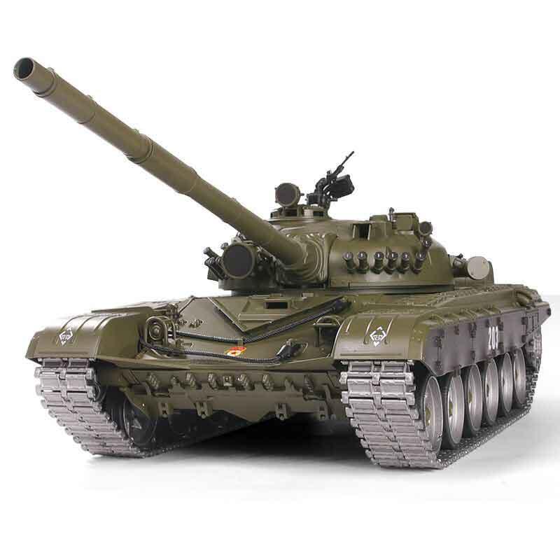 ラジコン戦車完成品ヘンロン/HengLong 1/16 T-72 2.4GHz(金属ギアボックス・金属キャタピラ・BB・サウンド・発煙仕様)T-72 Russischer Kampfpanzer 3939-1 PRO