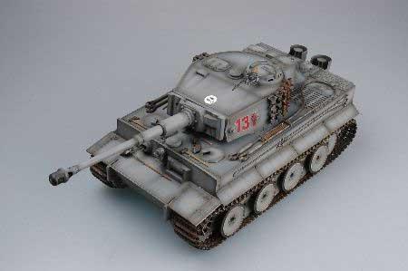 ラジコン戦車完成品トロTorro Tiger I 2.4GHz model805(赤外線バトルシステム・サウンド仕様・ジャーマングレー塗装)RC Tank TIGER 1 Torro 1/16 scale with Infrared battle system Color Winter grey 1112100708