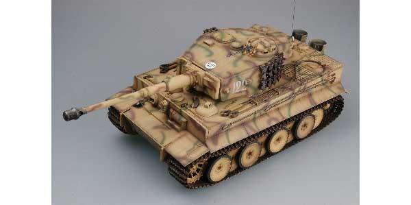 ラジコン戦車完成品トロTorro Tiger I 2.4GHz model805(赤外線バトルシステム・サウンド仕様・迷彩塗装)RC Tank TIGER 1 *** Torro *** 1/16 scale with Infrared battle system Color Camouflage 1112200709