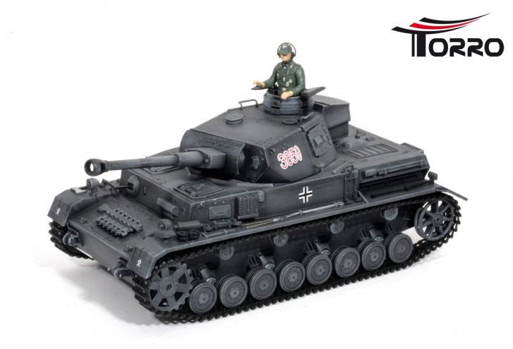 ラジコン戦車完成品トロTorro/HengLong 1/16 IV号F2型 2.4Ghz(ウェザリング塗装・プラキャタピラ・金属ギアボックス・BB・サウンド・発煙仕様)German DAK Pz.Kpfw.IV AufsF2.Sz.Kfz TankTorroバージョン!