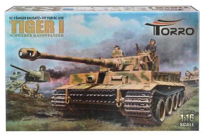 Torro 1/16Tiger1 初期型プロ-メタルエディション(BB/IRバージョン)組立キットRC fähiger Bausatz Tiger I. Torro 2272212501