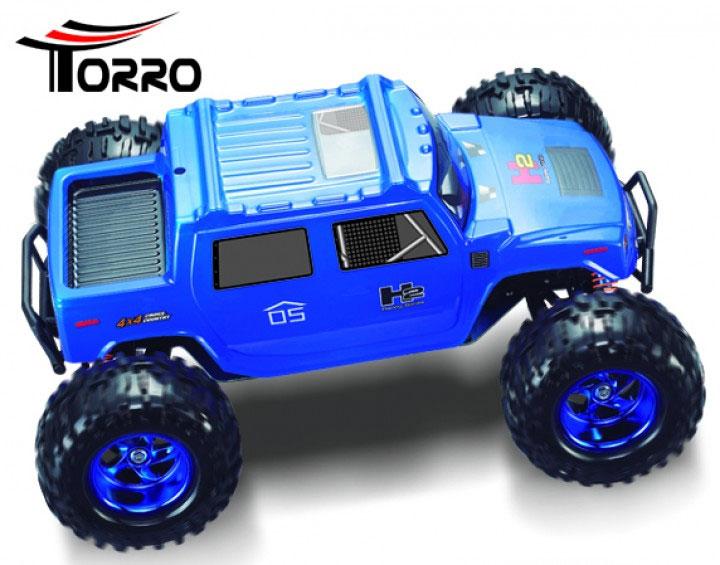Torro 1/10 ハマー H2 RTR(RC CROSS CAR *GAINER* CAR 1/10 HUMMER H2)1159938516