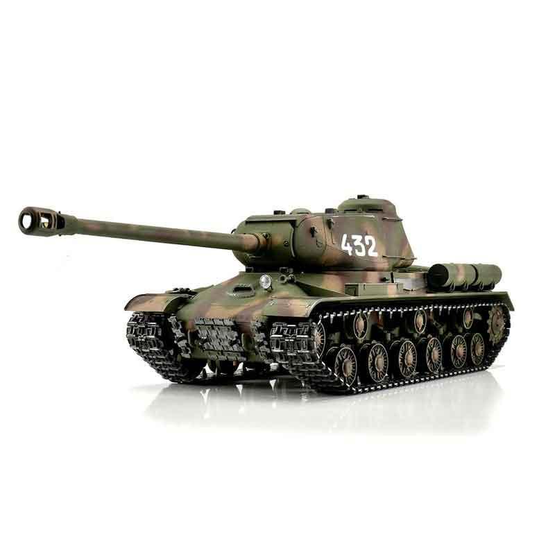 ラジコン戦車完成品トロTorro 1/16 IS-2 1944プロ-メタルエディション2.4Ghz(金属キャタピラ・BB・サウンド・発煙仕様・迷彩塗装)1/16 RC IS-2 1944 camo BB 1113928002