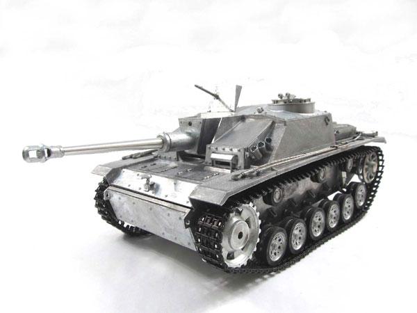 ラジコン戦車完成品マトMato/Clark 1/16 III突撃砲 STUGIII RTR 2.4Ghz(フルメタル・赤外線バトルシステム・サウンド仕様・アルミケース) 1226-M-IRAC