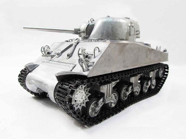 ラジコン戦車完成品マトMato/Clark 1/16 シャーマンM4A3(75mm) 2.4Ghz(フルメタル・赤外線バトルシステム・サウンド仕様・アルミケース) 1230-M-IRAC