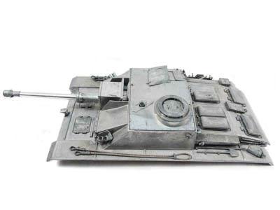 MatoToys StugIII用メタル砲塔・上部車体(IRバージョン)(1/16 StugIII metal upper hull with Barrel)MT189