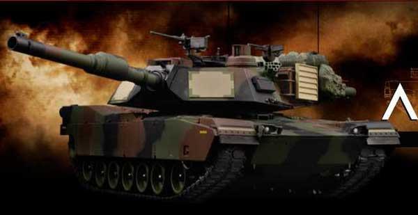 VSTANKPRO M1A2 エイブラムス (NATO迷彩塗装・BBシューティングシステム・サウンド)