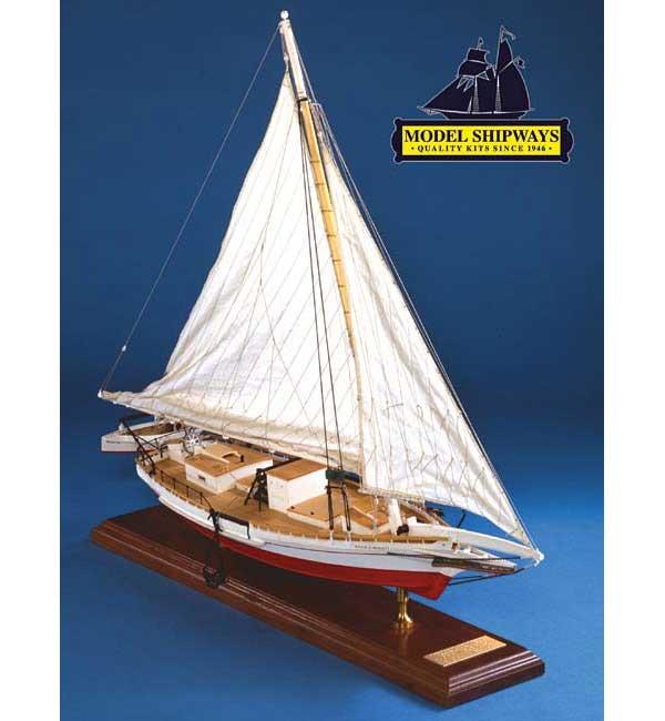 ModelShipways スキップジャック(Willie Bennett Chesapeake Bay Skipjack, 1:32 Scale) MS2032