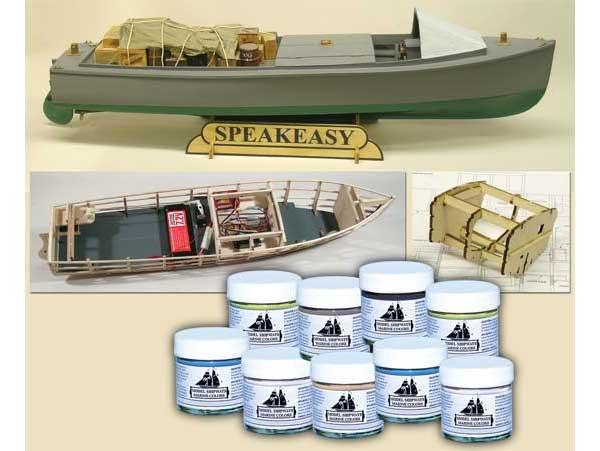 ModelShipways スピークイージー(Speakeasy Rumrunner With Paint Combo) MS2070PT
