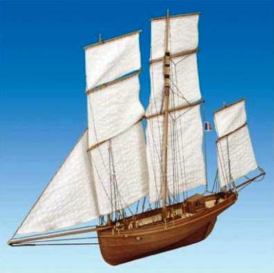Mantua マドレーヌ Le Madeline model boat(732)