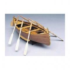 Mantua ゴゾーリグレ Gozzo Ligure model fishing boat (735)