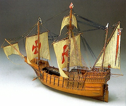 Mantua サンタマリア Santa Maria model boat(775)