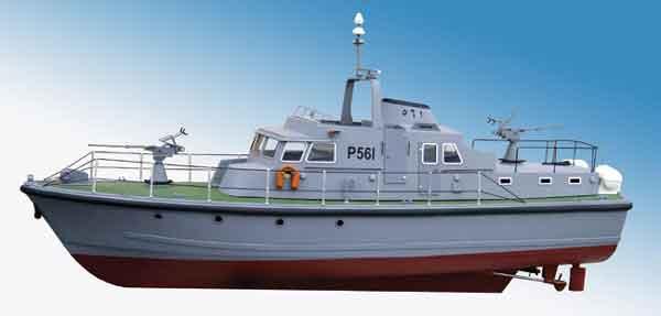 ModelSlipway Kawkab級パトロールボート