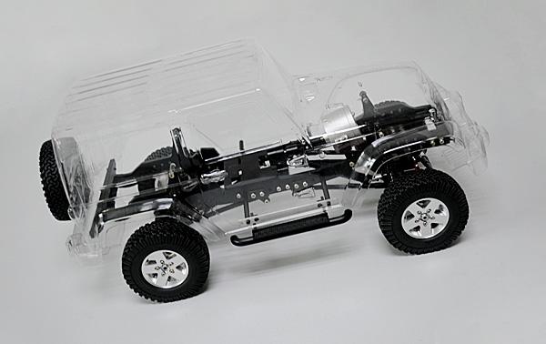 RC4WD 1/10 ゲレンデ ジープ・ラングラーARTR Z-K0038