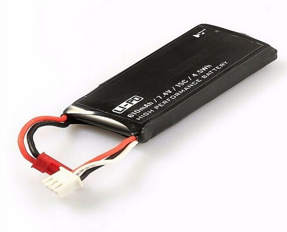 HUBSAN ハブサン X4 在庫限り H502S 610mAhバッテリー 超激安 H502-16 RCクアッドコプター用7.4V