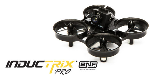 Horizon Hobby Inductrix FPV Pro BNF ドローン(Inductrix FPV Pro BNF)