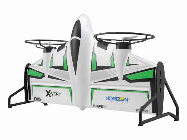 Horizon Hobby 垂直離着陸機 パークフライ機BNF Basic(X-VERT VTOL BNF Basic)AH-EFL1850