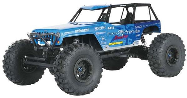 AXIAL ラングラー ポイゾン スパイダー RTR(Axial Wraith 1/10 Jeep Wrangler Poison Spyder RTR)AX90031