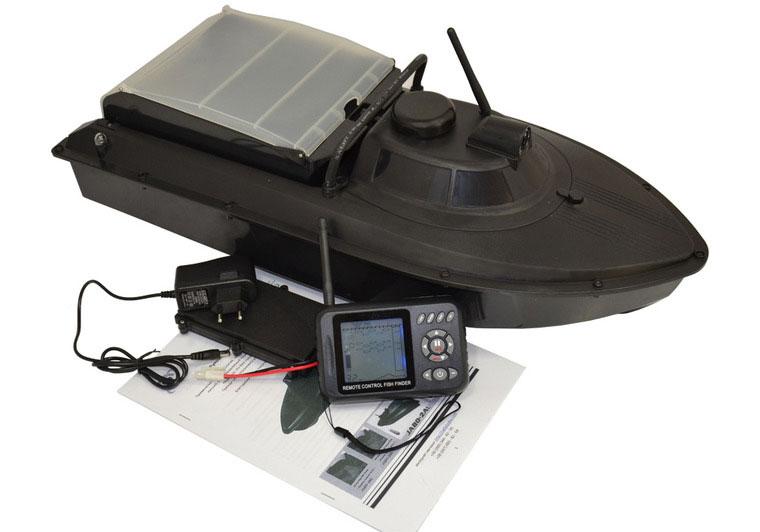 JABO-2B ベイト・ボート/魚探付コントローラー