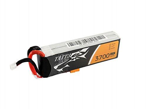 タトゥー/Tattu リポバッテリー 14.8V 3700mAh 45C (Tattu 3700mAh 45C 4S1P Lipo Battery Pack with XT60 plug)TA-45C-3700-4S1P-XT60