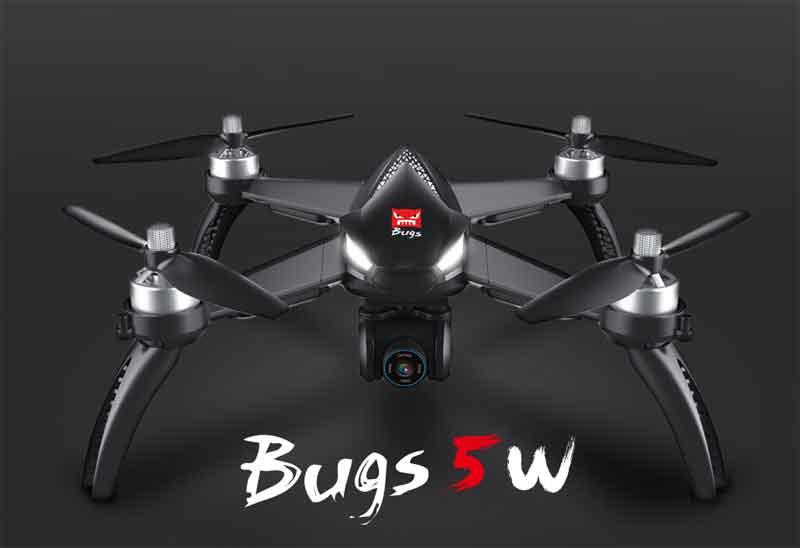 MJX/エムジェーエックス B5W Bugs 5W 2.4G ドローン 6軸ジャイロ 1080Pカメラ Wifi FPV GPS 高度維持 RCクアドコプター