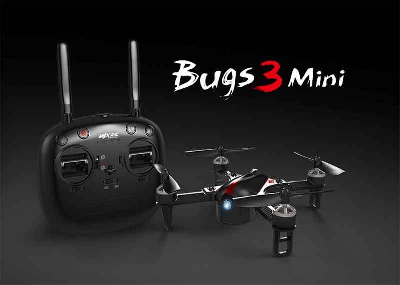 MJX/エムジェーエックス B3mini Bugs 3mini 2.4G レーシングドローン ブラシレスモーター カメラ無しモデル